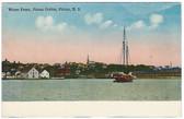 Pictou, Nova Scotia, Canada Postcard:  Water Front, Pictou Centre