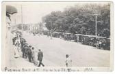 Hawkeye, Iowa Real Photo Postcard:  1912 Picnic Day