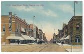 Fond du Lac, Wisconsin Postcard:  Main Street, North