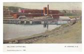 St. Stephen, New Brunswick, Canada Postcard:  Milltown Cotton Mill