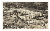 White Sulphur Springs, West Virginia Real Photo Postcard:  The Greenbrier Hotel