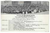 North Adams, Massachusetts Postcard:  Drury High School Band