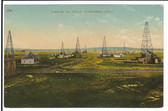 Muskogee, Oklahoma Postcard:  View of Oil Field