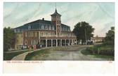 Block Island, Rhode Island Postcard:  The Manisses Hotel