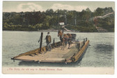 Mount Hermon, Massachusetts Postcard:  The Ferry