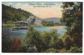 "Wheeling, West Virginia Postcard:  Steamer ""Royal"" on the Ohio River"
