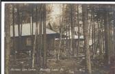 Belgrade Lakes, Maine Real Photo Postcard:  Belgrade Lake Camps