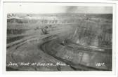 Virginia, Minnesota Real Photo Postcard:  Iron Mine