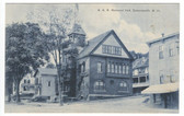 Somersworth, New Hampshire Postcard:  G. A. R. Memorial Hall