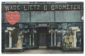 Aurora, Illinois Postcard:  Wade Lietz & Grometer Store
