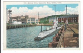 Groton, Connecticut Postcard:  General View of Submarine Base