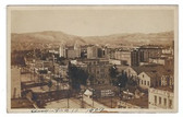 Salt Lake City, Utah Real Photo Postcard:  1909 Downtown View