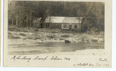 Seboeis, Maine Real Photo Postcard:  Sporting Camp