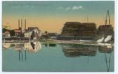 North Anson, Maine Postcard:  North Anson Lumber Co.