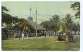 Peak's Island, Maine Postcard:  Greenwood Garden