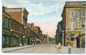 Winchester, Virginia Postcard:  Main Street & Union Bank