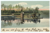 Claremont, New Hampshire Postcard:  Ashleys Ferry