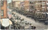 Rochester, New York Postcard:  1909 Rochester Industrial Exposition Parade