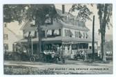 Center Harbor, New Hampshire Postcard:  The Garnet Inn & Old Cars