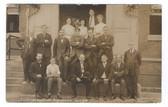 Brockton, Massachusetts Real Photo Postcard:  July, 1908 Clerks of the Post Office