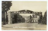 Cheshire, Connecticut Real Photo Postcard:  Waverly Inn