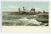 Gloucester, Massachusetts Postcard:  Eastern Point Lighthouse