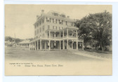 Pigeon Cove, Massachusetts Rotograph Postcard:  Ocean View House