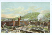 Little Falls, New York Postcard:  MacKinnon's Knitting Mills
