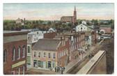 Huntington, Indiana Postcard:  1870 View