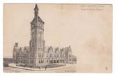 Fort Worth, Texas Postcard:  Texas & Pacific Railroad Station