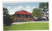 Austin, Texas Postcard:  Country Club