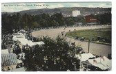 Wheeling, West Virginia Postcard:  Harness Racing at State Fair Grounds