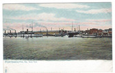 Portsmouth, Virginia Postcard:  Navy Yard