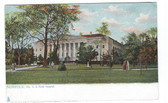 Norfolk, Virginia Postcard:  U. S. Naval Hospital