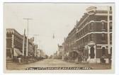 Hastings, Nebraska Real Photo Postcard:  2nd Street Looking East