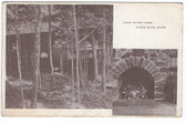Allens Mills, Maine Postcard:  Clear Water Camps