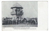 Allentown, Pennsylvania Postcard:  Judges Stand, Harness Racing, Allentown Fair