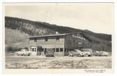 Dillon, Colorado Real Photo Postcard:  Moon Valley Lodge & Cafe