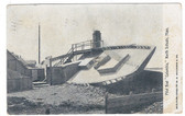 """North Scituate, Massachusetts Postcard:  Wreck of the """"Columbia"""""""