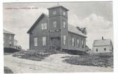 Cambridge, Maine Postcard:  Grange Hall