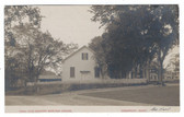 Amesbury, Massachusetts Real Photo Postcard:  Old Quaker Meeting House