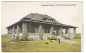 North Leominster, Massachusetts Postcard:  Monoosnock Country Club