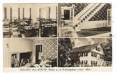 Framingham Center, Massachusetts Real Photo Postcard:  4 Views of Seiler's 1812 House