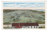 Ormond, Florida Postcard:  Bird's Eye View of Golf Links