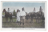Fairlee, Vermont Postcard:  Horse Show at Wynona Camp