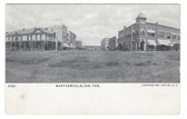 Bartlesville, Indian Territory (Oklahoma) Postcard:  Downtown