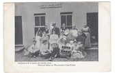 Willimantic, Connecticut Postcard:  Music Group at Camp