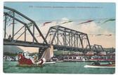 Healdsburg, California Postcard:  Water Carnival