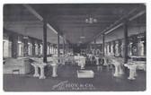 Albany, New York Postcard:  Showroom of Hoy & Co.