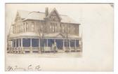 Berwick, Pennsylvania Real Photo Postcard:   Y.M.C.A.